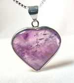 amethyst heart