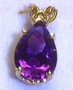 amethyst gemstone with good color