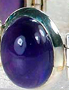 amethyst cabochon with good color