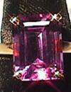 amethyst with red flashes