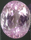 average kunzite gemstone