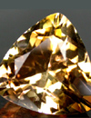 brown topaz with a nice cut