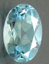 typical blue topaz